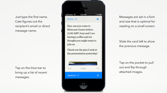 Cate iOS App Wants To Simplify iDevice-Powered Communication