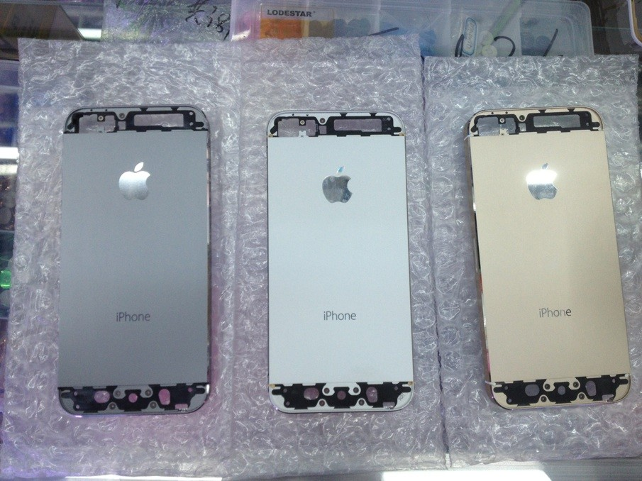 More Evidence Of Graphite And Champagne Colored iPhone 5S Hits The Web