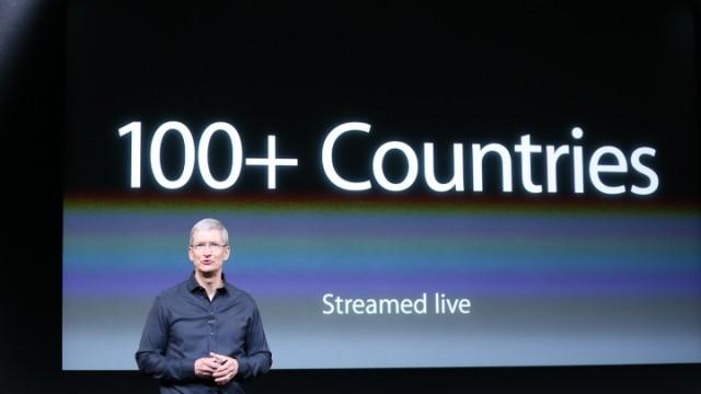 Apple Announces Recent Figures At Its iPhone Media Event