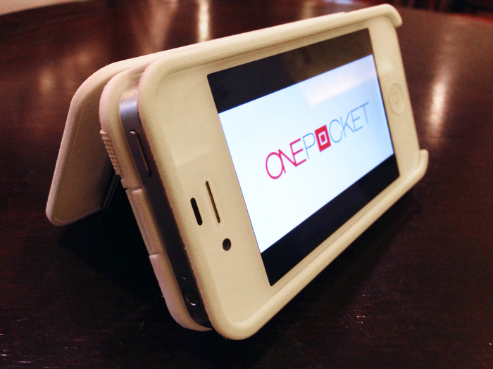 Kickstarter: Hold Your iPhone, Cash, Cards And More In The Smart ONEPOCKET
