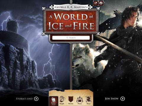 George R. R. Martin's A World Of Ice And Fire Expands With Brand New Interactive Maps