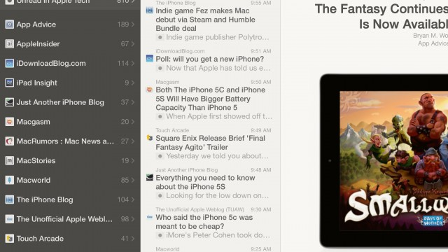 Reeder 2 Arrives As A Universal App, But Was It Worth The Wait?