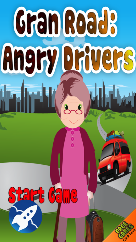 Quirky App Of The Day: Angry Drivers: Help Gran Cross The Road Like Frogger
