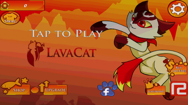 Quirky App Of The Day: LavaCat Won't Let Magma Keep Him From His Treats
