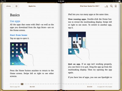 Apple Releases Official User Guides For iOS 7
