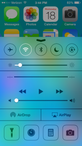 How To Customize Control Center Settings In iOS 7