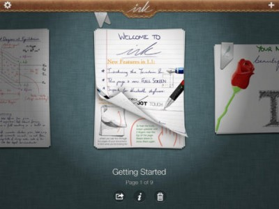 Handwriting App Ink Adds New Fountain Pen Tool, Bluetooth Styli Support And More