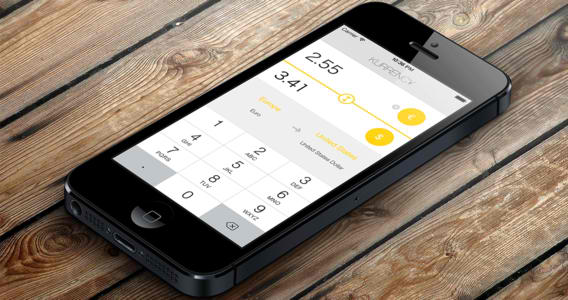 Designed For iOS 7, Kurrency Is An Extremely Simple Currency Conversion App