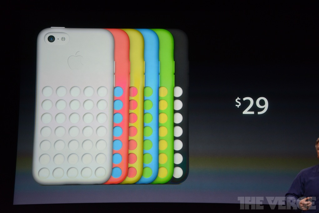 Colorful Cases Come With The Brand New iPhone 5C