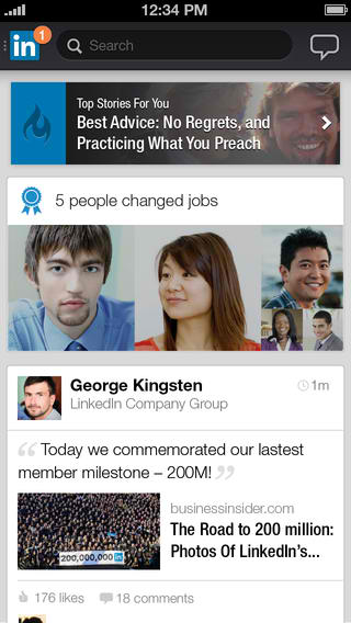 LinkedIn For iOS Now Shows Your Skill Endorsements And Lets You Apply For Jobs