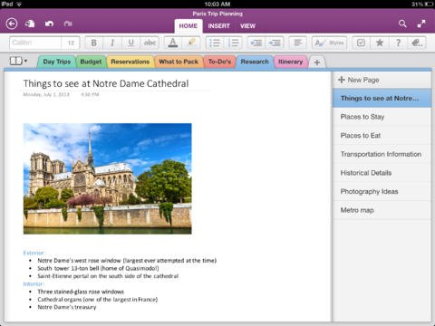 Microsoft OneNote For iPad Gains Notebook Creation, iPhone App Reduces Size