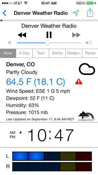 NOAA Weather Radio Joins The Great Flood Of App Updates For iOS 7