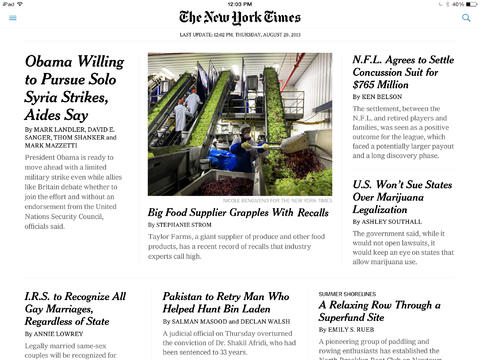 Extra! Extra! Official New York Times And Huffington Post Apps Get iOS 7 Updates