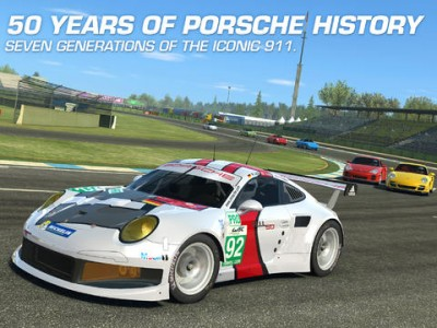 Celebrate The 50th Anniversary Of The Porsche 911 With Real Racing 3