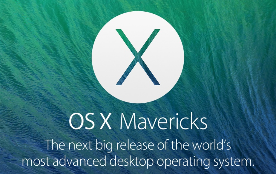 Apple To Launch OS X Mavericks At The End Of October