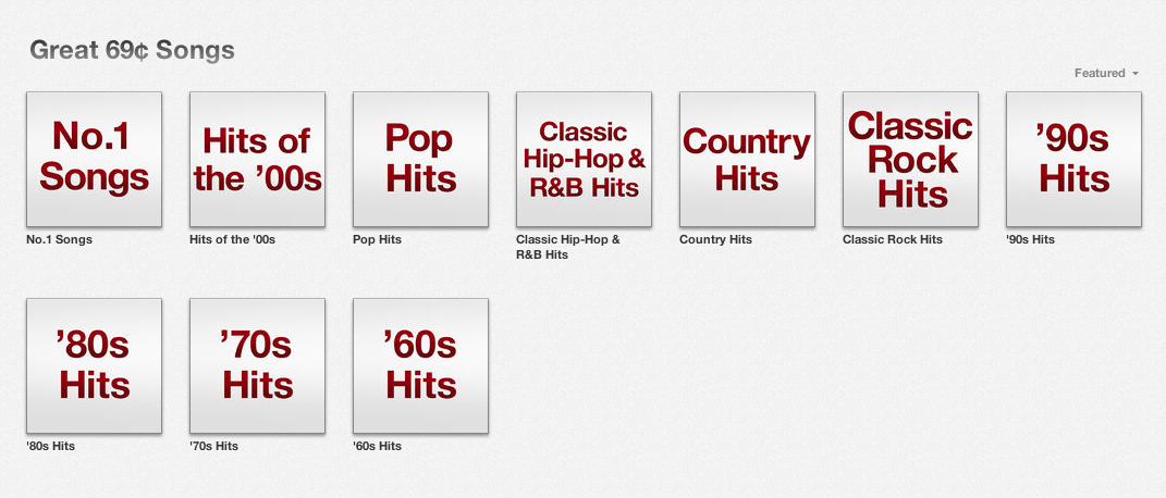 Apple Offers Rare iTunes Sale On Top Singles