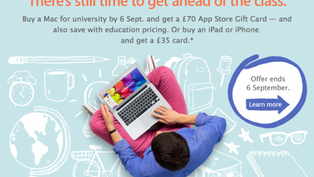Apple's 'Back To School' Promotion Is Still Live: Be Quick, Before It's Too Late