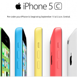 Preorders For iPhone 5c To Go Live At 12:01 A.M. Pacific Time, Sept. 13