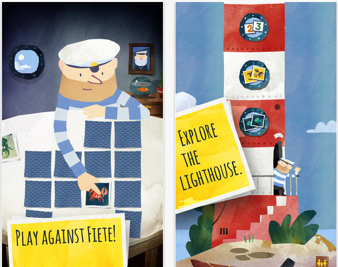 Challenge This Snappy Sailor In Award-Winning Fiete Match For iOS
