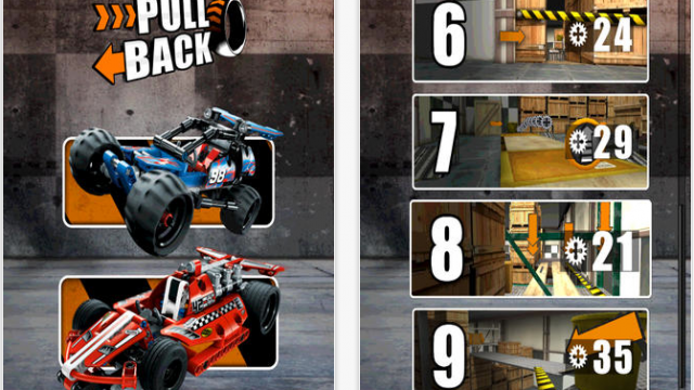 LEGO's Latest iOS Game Brings Pullback Racer Cars To Life