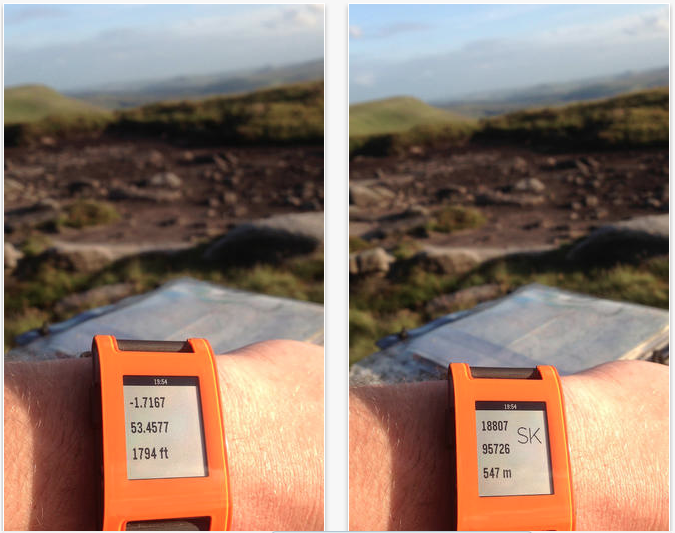 Pebble Hike Brings Mapping Information To The Wrist For Hikers, Runners And Bikers