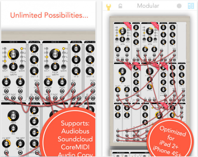 Take Your Music To The Next Level With Modular Synthesizer For iOS