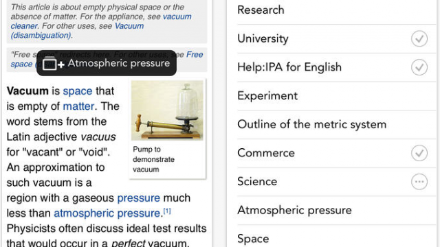 Wikipanion's iPhone And iPad Apps Get Flat, Minimalistic iOS 7 Redesigns