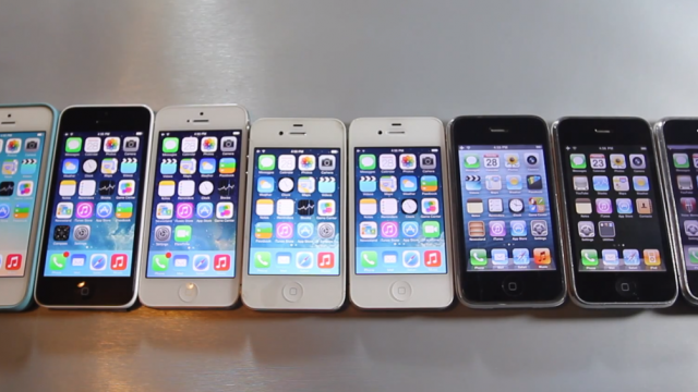 Look How Far We've Come: Every iPhone Handset Compared In New Video