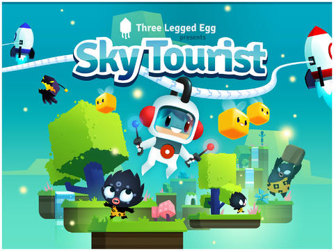 Physics-Based Puzzle Platformer Sky Tourist Gains Mini Levels In First Update