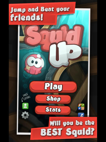 Squid Up In Order To Go Way Up And Save The World In This New iOS Arcade Game