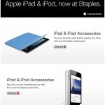 Office Supply Chain Store Staples Starts Selling Apple's iPad And iPod In The US