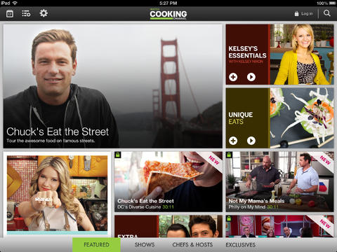 Watch Cooking Channel Right On Your iDevice With This New App