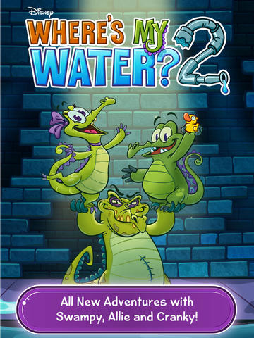 Disney Launches Where's My Water? 2 As Original Game Celebrates 2 Years On iOS