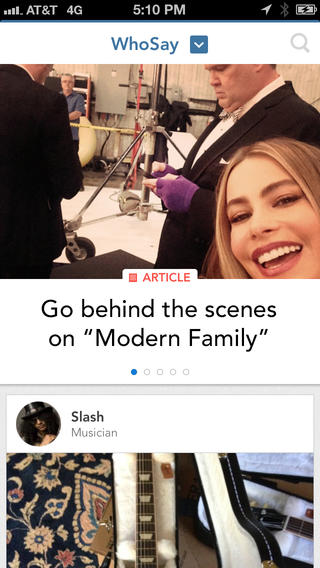 WhoSay Lets You Create A Magazine Featuring Content From Your Favorite Celebrities