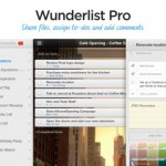 Popular Wunderlist To-Do App Updated With Commenting Feature And Pro Trial