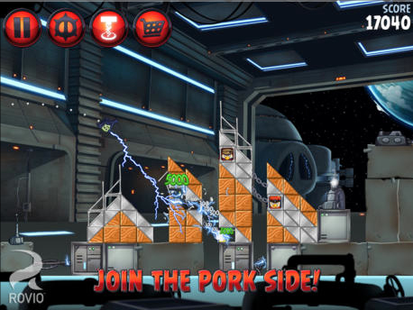 Join The Pork Side And Download Angry Birds Star Wars II Now