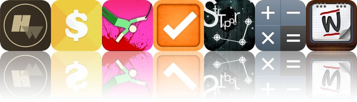 Today's Apps Gone Free: Hollow Words, EasyCost, Hanger And More
