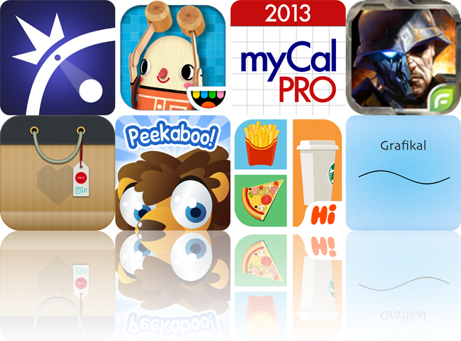 Today's Apps Gone Free: Pivvot, Toca Builders, myCal Pro And More