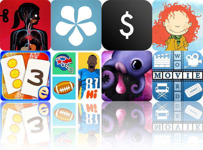 Today's Apps Gone Free: The Human Body, Cotton Notes, Left To Spend And More