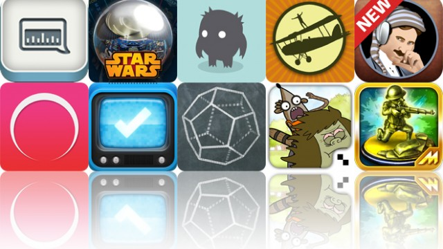 Today's Apps Gone Free: OneTuner Pro, Star Wars Pinball, Jorgits And More