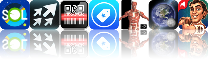 Today's Apps Gone Free: Sol, PhotoSendr, Barcode And More