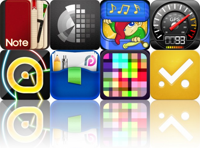 Today's Apps Gone Free: NoteLedge, Deco Sketch, Magical Music Box And More