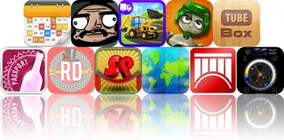 Today's Apps Gone Free: Calendars, Le Ninja, Trucks And Shadows And More