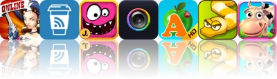 Today's Apps Gone Free: Bang!, Espresso Reader, My Monsters And More