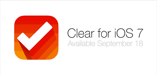 Clear For iOS 7 Will Be A Completely New And Separate App