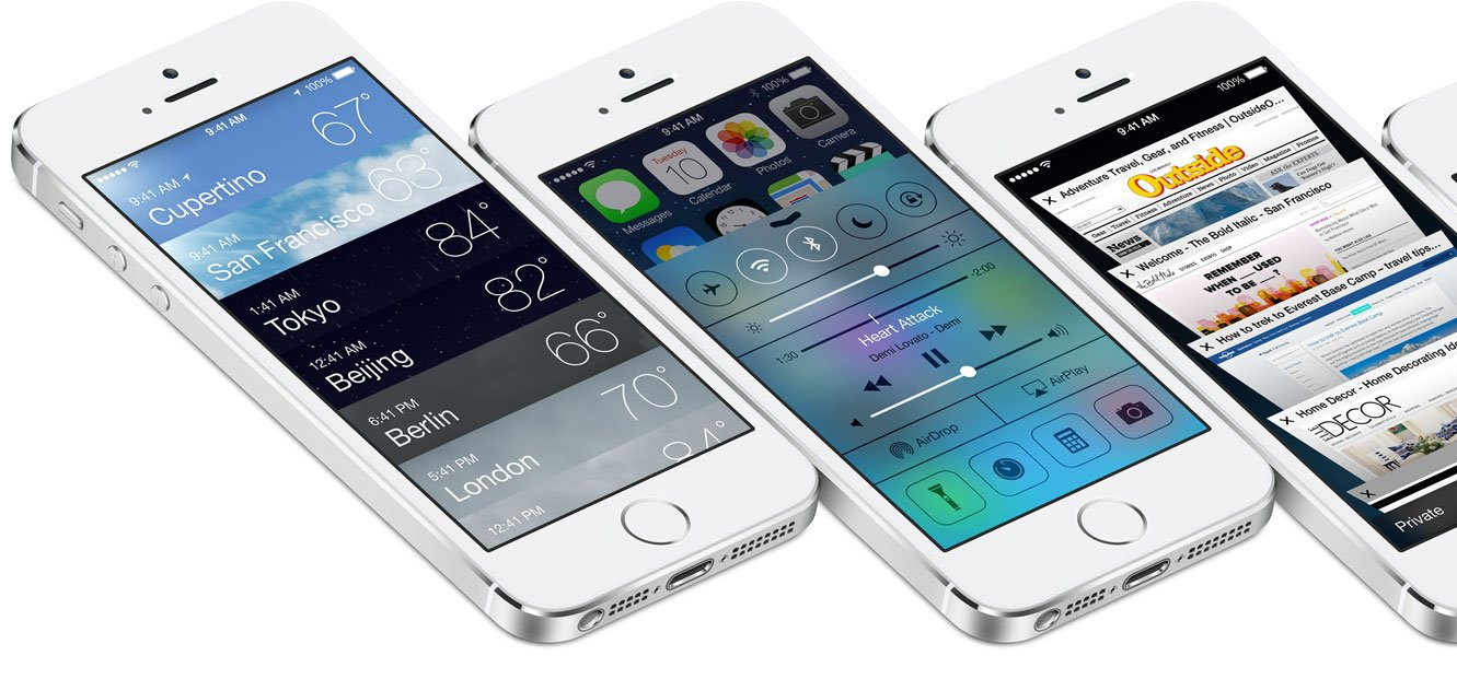 It's A New World As Apple Officially Launches iOS 7