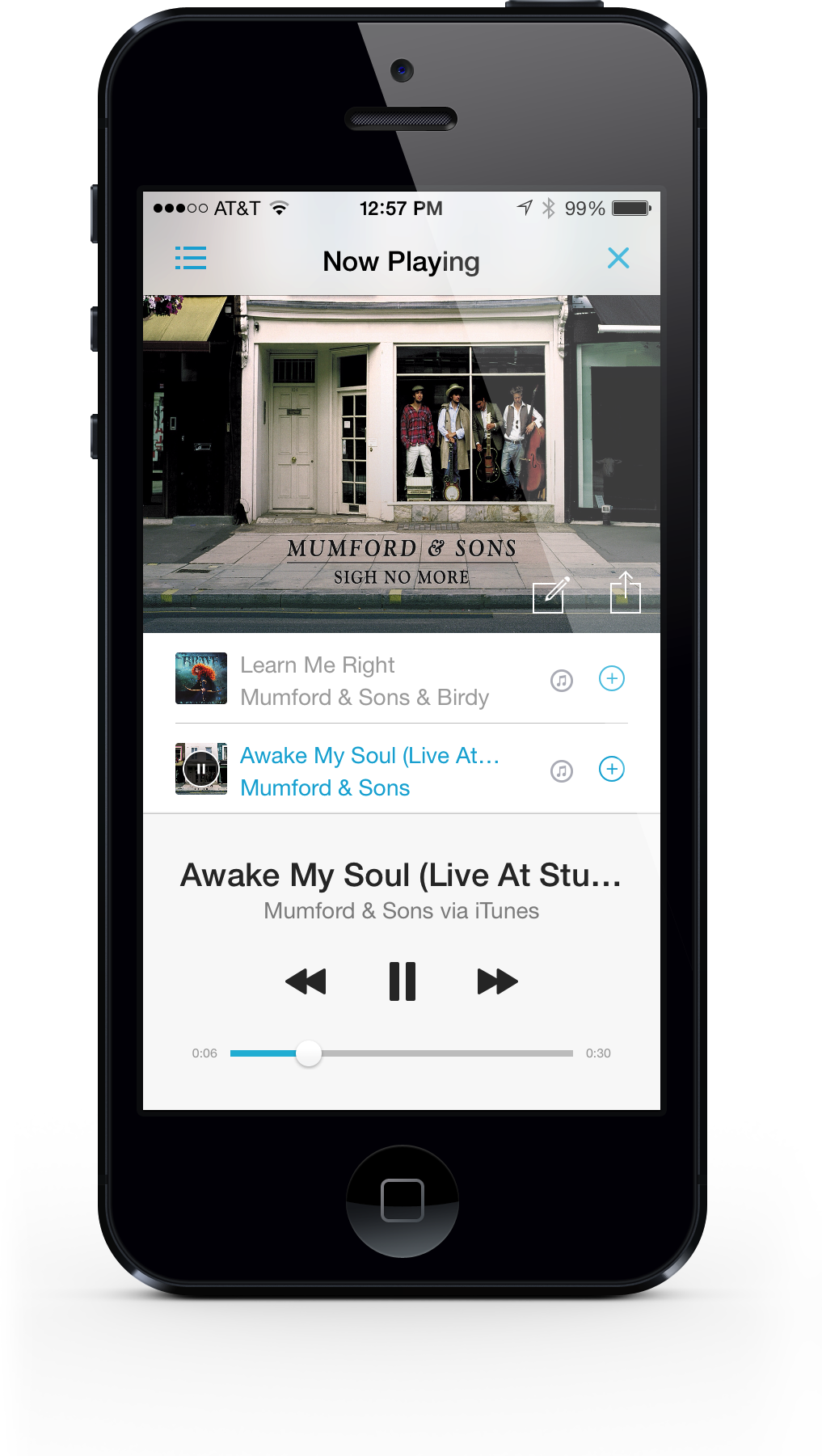 The Popular Discovr Music App Now Supports Apple's iOS 7 And Has A New Design