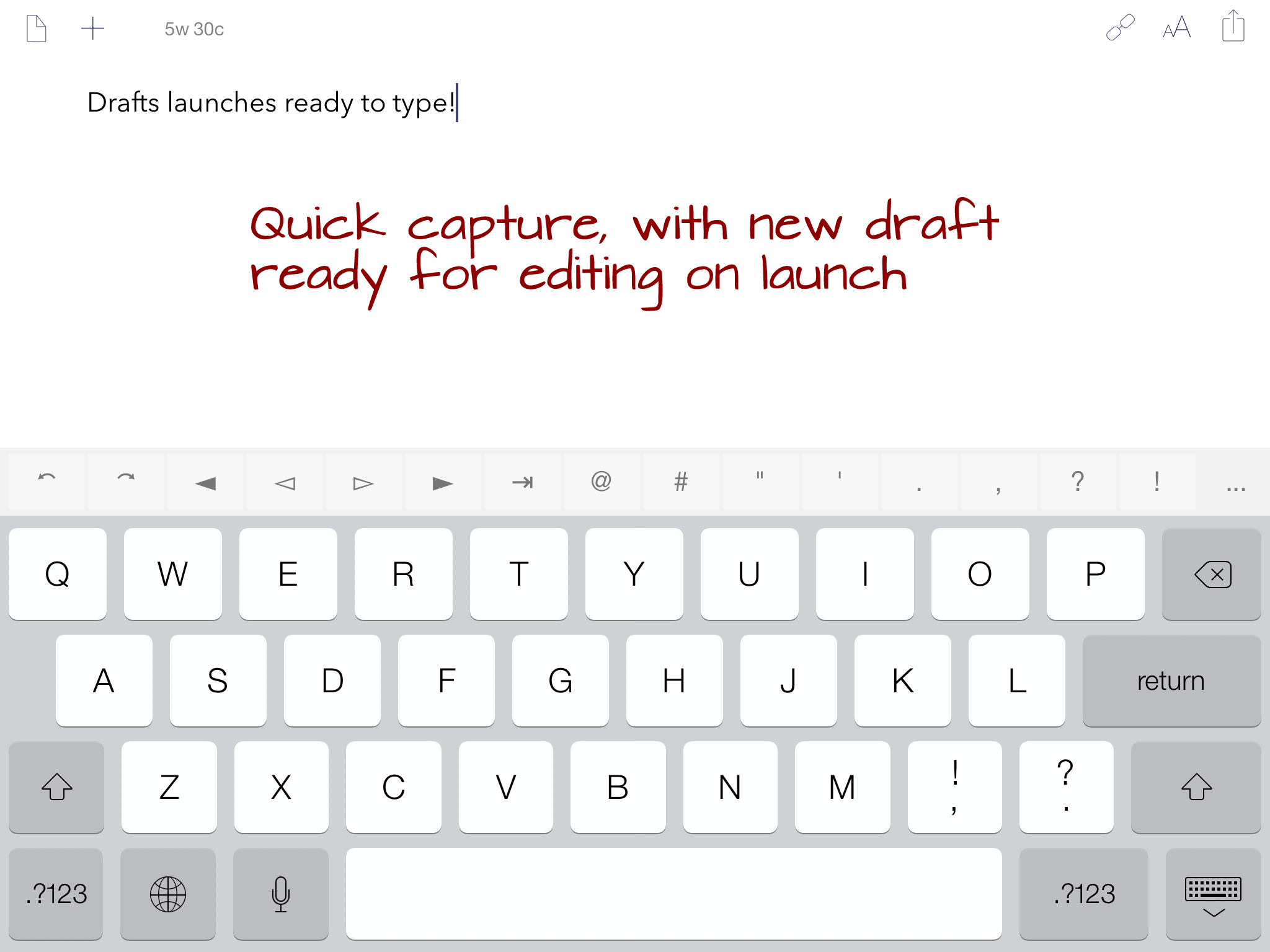 Drafts Gets An iOS 7 Makeover And Improvements With The Latest 3.5 Update
