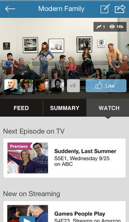 GetGlue Unveils Revamped iPhone App With New What To Watch Guide And More