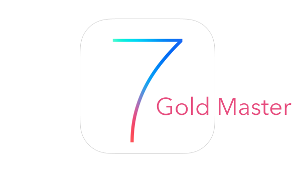 Apple Releases iOS 7 Gold Master To Developers